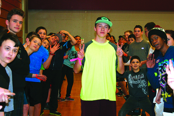 Cadets from across the region participated in a sports day last week in Castlegar.
