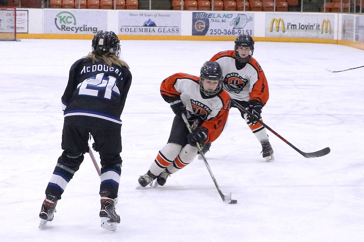 With new Provincial Health Orders, area sports teams will suspend all travel including the Trail Smoke Eaters and Trail minor hockey rep teams and some house teams. Photo: Jim Bailey.